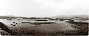Road Travel Originals - Low Tide at Lagganulva by Jan Faul