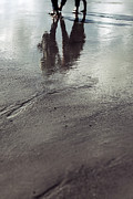 Foot Prints - Low Tide Print by Joana Kruse