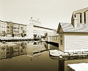 Mills Photo Originals - Lowell Canals by Jan Faul