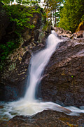 Vermont Wilderness Art - Lower Bolton Falls Vermont  by Wendell Ducharme Jr