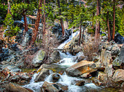 Nevada Falls Photos - Lower Eagle Falls Emerald Bay Lake Tahoe by Scott McGuire