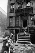 Front Steps Photos - Lower East Side, New York by Katrina Thomas