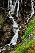 550 Prints - Lower Half Clear Lake Falls Print by Lana Trussell