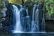 Canoe Waterfall Prints - Lower Johnson Falls 2 Print by Larry Ricker