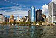 New York City Skyline Photos - Lower Manhatten Skyline by Fred Lassmann
