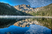 Lake Reflection Framed Prints - Lower Sardine Lake Framed Print by Greg Nyquist