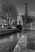 Lower Slaughter Mill Print by Nigel Jones