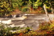 Newberry Prints - Lower Tahquamenon Falls 1 Print by Michael Peychich