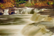 Newberry Prints - Lower Tahquamenon Falls 2 Print by Michael Peychich