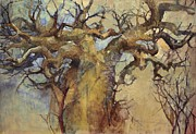 Baobab Paintings - Lowveldt by Wendy Rosselli