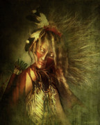 Western Art Digital Art - Lozen Portrait by Shanina Conway