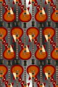 Strings Digital Art Posters - Lp - 4 Poster by Mike McGlothlen
