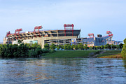 Nashville Tennessee Metal Prints - LP Field Nashville Tennessee Metal Print by Kristin Elmquist