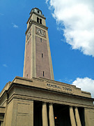 Clock Tower Photos - LSU Memorial Tower by Replay Pgotos