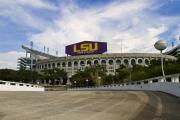 Champions Prints - LSU Tiger Stadium Print by Scott Pellegrin