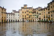 Old Houses Metal Prints - Lucca Metal Print by Andre Goncalves