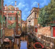 Luci A Venezia Print by Guido Borelli