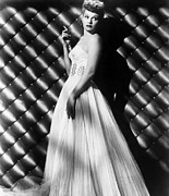 Bare Shoulder Metal Prints - Lucille Ball, Ca. 1950s Metal Print by Everett
