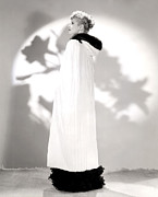 Lucille Ball Prints - Lucille Ball Models A Cape Print by Everett