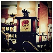Portraits Art - Lucille Ball by Natasha Marco