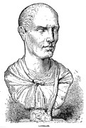 Statue Portrait Photo Prints - Lucius Licinius Lucullus Print by Granger