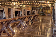Wooded Art - Luckenbach Dance Hall by Scott Norris