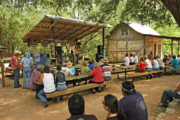 Live Music Photos - Luckenbach Music by Robert Anschutz