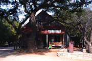 Country Store Framed Prints - Luckenbach Texas - II Framed Print by Susanne Van Hulst