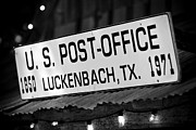 Luckenbach Framed Prints - Luckenbach Texas Sign Framed Print by Paul Huchton