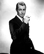 Pinstripe Suit Prints - Lucky Jordan, Alan Ladd, 1942 Print by Everett