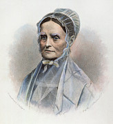 Abolition Movement Photo Posters - Lucretia Coffin Mott Poster by Granger