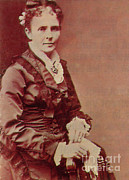 Rudolph Prints - Lucretia Garfield Print by Photo Researchers