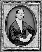 Women Suffrage Prints - Lucy Stone, American Abolitionist Print by Photo Researchers