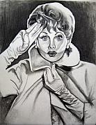 Lucille Ball Prints - Lucy Print by Toni  Thorne