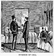 Punishment Prints - Ludlow Street Jail, 1868 Print by Granger