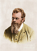 Statistical Prints - Ludwig Boltzmann, Austrian Physicist Print by Photo Researchers