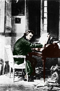 Continue Prints - Ludwig Van Beethoven, German Composer Print by Photo Researchers, Inc.