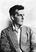 20th Century Prints - Ludwig Wittgenstein Print by Granger