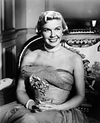 1950s Movies Photo Framed Prints - Lullaby Of Broadway, Doris Day, 1951 Framed Print by Everett