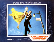 Lamp Post Prints - Lullaby Of Broadway, Doris Day, Gene Print by Everett