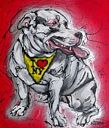 Pitbull Originals - Lulu loves NY by Erlinde Ufkes Stephanus