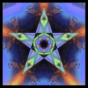 Sacred Geometry Posters - LumiMatter Poster by Bell And Todd