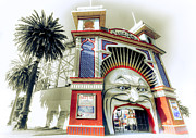 Chromatic Prints - Luna Park Print by Wayne Sherriff