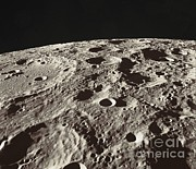 Fifteen Prints - Lunar Surface Print by NASA / Science Source