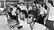 Arrest Prints - Lunch Counter Sit-in, 1961 Print by Granger