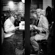 Candid Photos - Lunch by David Bowman