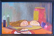 Sandwich Paintings - Lunch by Rich Fotia