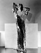 Full-length Portrait Metal Prints - Lupe Velez, Ca. Early 1930s Metal Print by Everett
