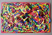 Abstract And Or Expressionistic Work - Lusciously Lascivious Paint II by Charles Peck