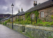 Take The High Road Posters - Luss cottages Poster by Sam Smith